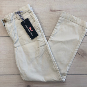 Vineyard Vines Boys Breaker Pants Khaki Size 7 NWT