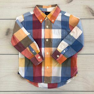 Baby Gap Long Sleeve Button Down Shirt Size 3