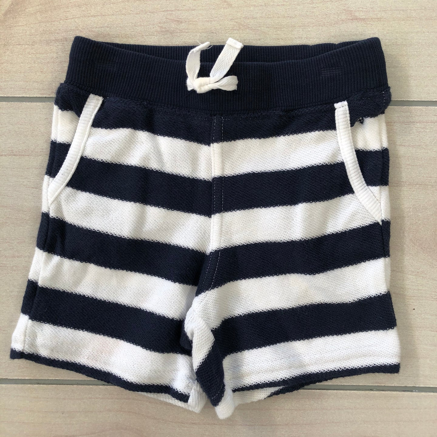 Janie and Jack Striped Shorts Size 3-6 months