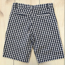 Load image into Gallery viewer, Tooby Doo Blue Check Shorts Size 10