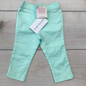 Janie and Jack Green Pants 12-18 month NWT