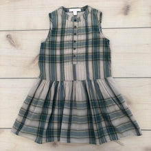 Load image into Gallery viewer, Burberry Plaid Sleeveless Dress Size 4