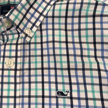 Load image into Gallery viewer, Vineyard Vines Whale Shirt Button Down Size 12-14