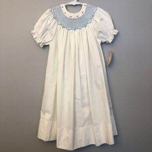 Rosalina Smocked Bishop Dress Size 4T NWT