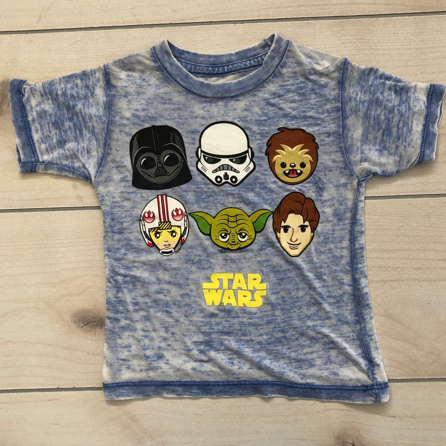 Star Wars T Shirt Size 2