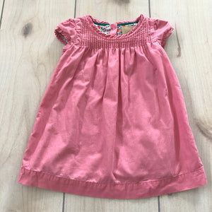 Mini Boden Corduroy Dress Size 6-12 Months