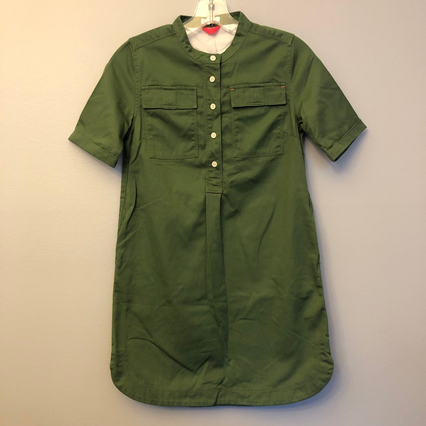 Crewcuts Army Green Dress Size 12