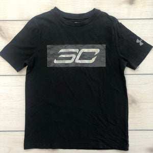 Under Armour SS Black Top Youth Small