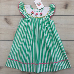 Mom & Me Smocked Flowers Dress 24 Months NWT