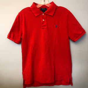 Ralph Lauren Red SS Polo Size 14-16