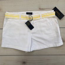 Load image into Gallery viewer, Ralph Lauren White Shorts Size 12 NWT