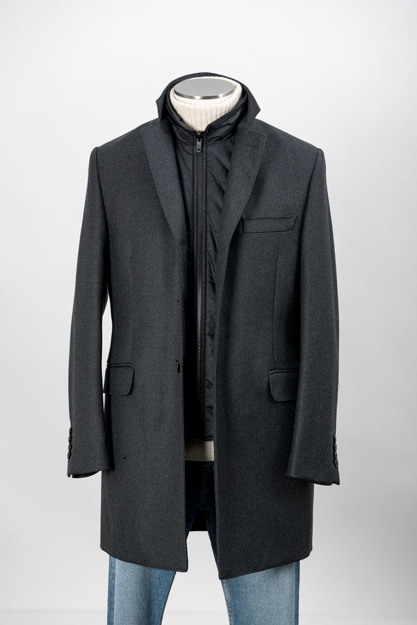 Cappotto Con Gilet Staccabile Fay