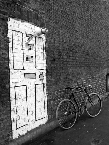 Secret Door, , Amersham Road, New Cross, B&W