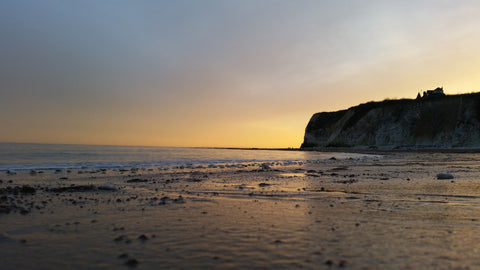 Dumpton Gap Sunset, Broadstairs