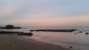 Tidal Pool at Sunset, Broadstairs