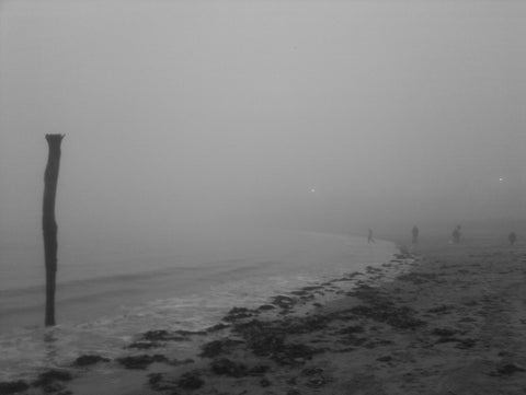 Viking Bay, Broadstairs in the Fog
