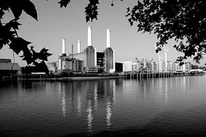 Battersea Original Chimneys B&W