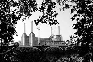Battersea Spot the Difference  B&W