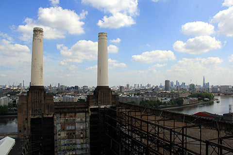 Battersea Power Station - Two Chimneys