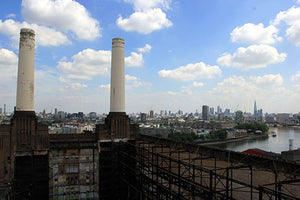 View from Battersea Power Station colour