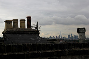 London Rooftop view of the Shard, Eddies Roof