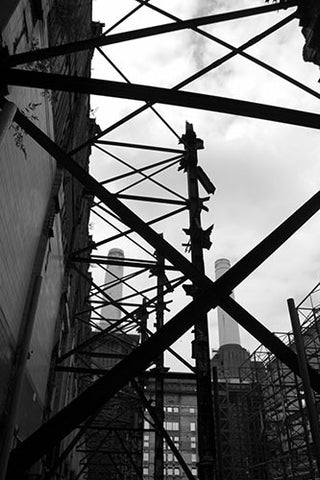 Battersea Power Station Scaffold 2
