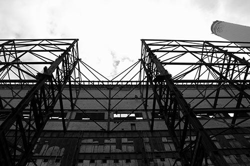 Battersea Power Station Scaffold 3