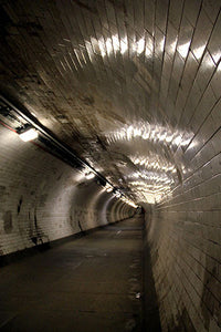 Greenwich Foot Tunnel, Colour