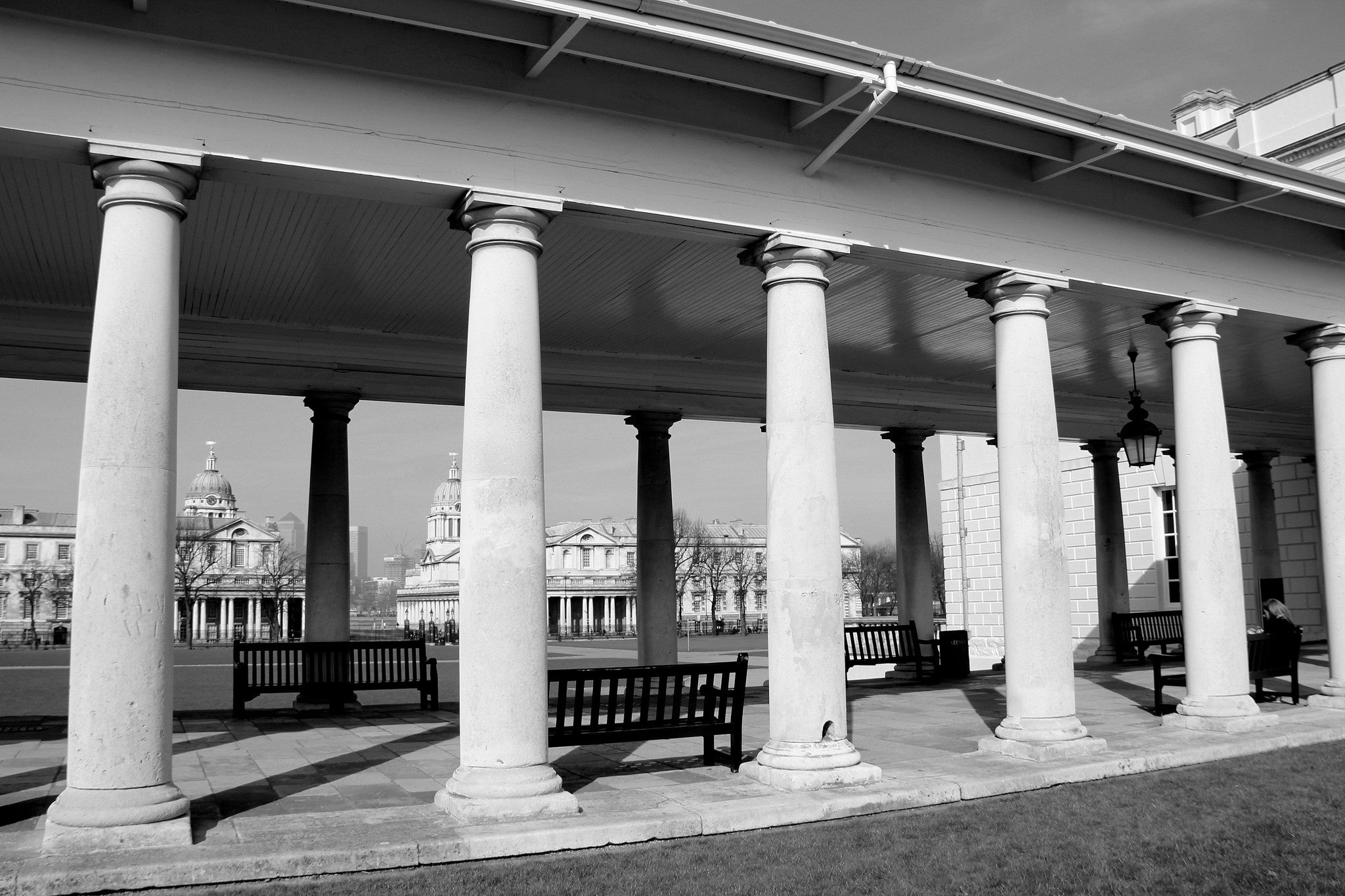 Queen's House Colonnade, Greenwich