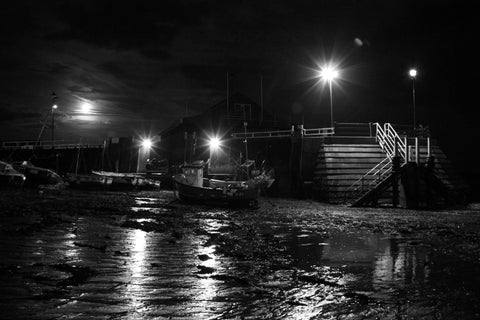 Viking Bay, Broadstairs by Moonlight