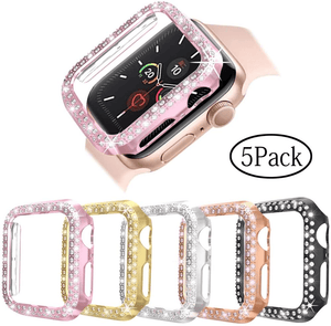 Secret Bling Apple Watch Case 5 Pack