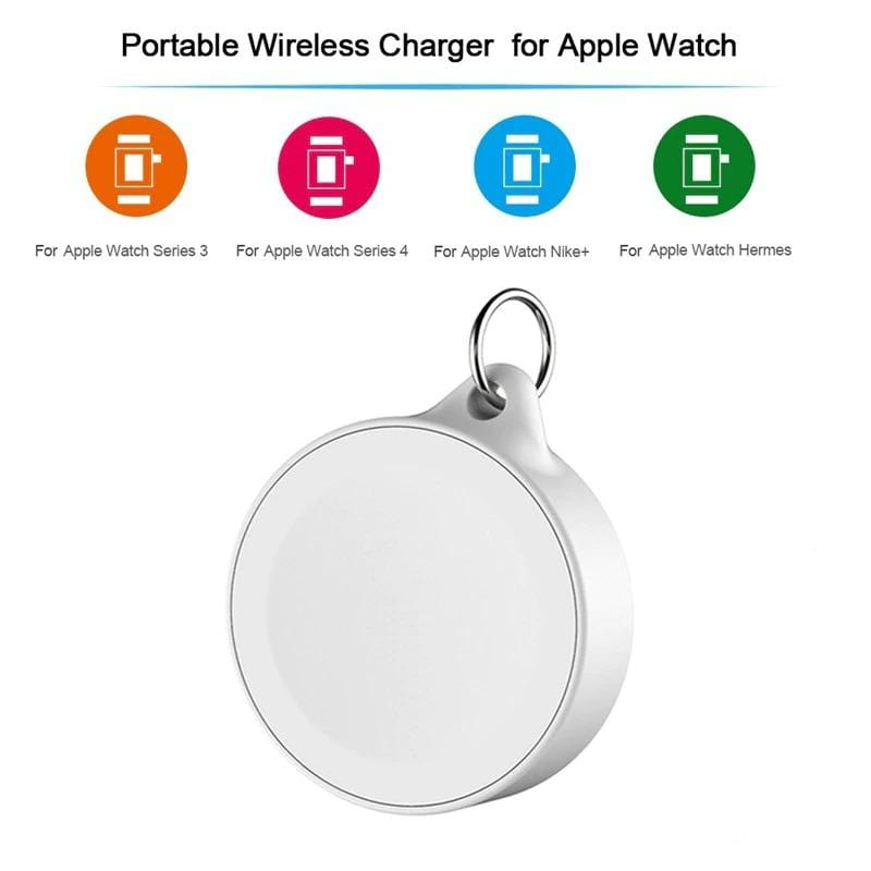 Portable Wireless Keychain Charger