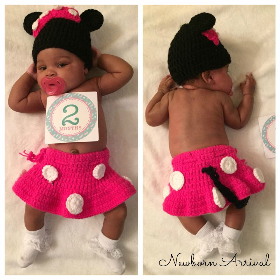 Newborn Arrival™ Minnie Inspired Set- FREE USA SHIPPING