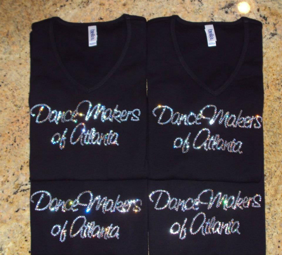 DanceMakers of Atlanta Crystallized T-Shirts