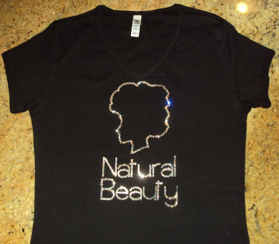 Executees Natural Beauty T-Shirts in Swarovski Crystals