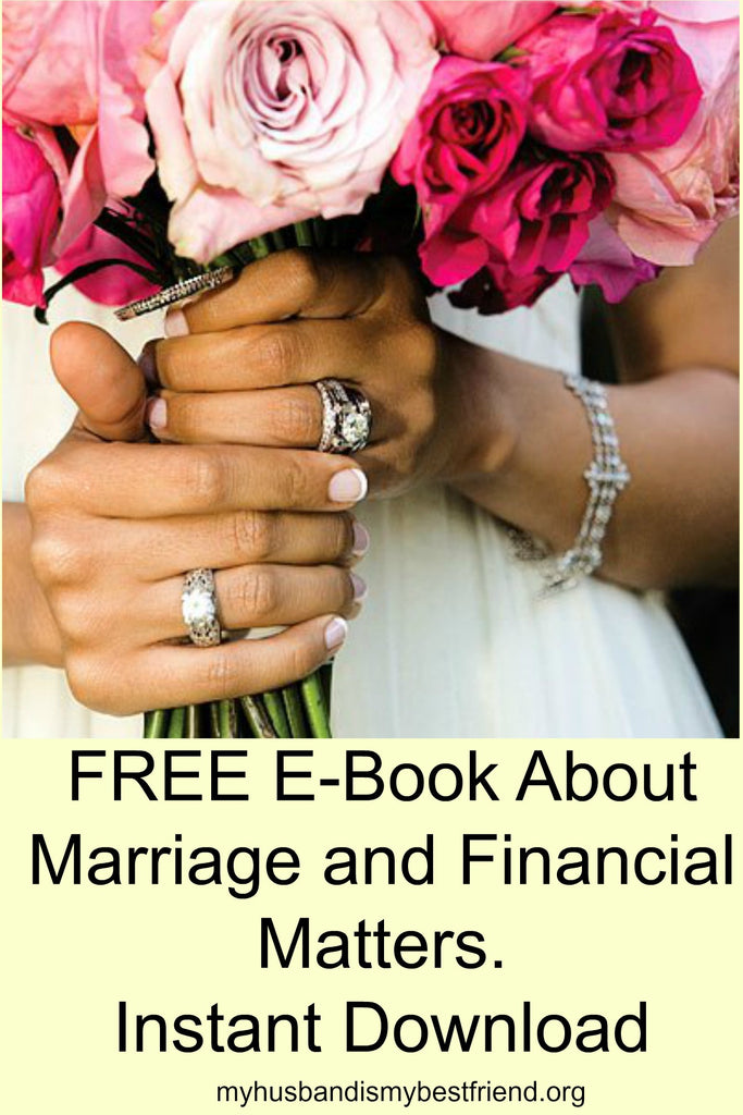 FREE E-Book About Marriage and Financial Matters - Instant Download
