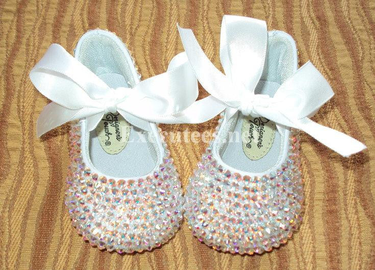 Executees Crystallized in Swarovski Crystals Ballet Shoes