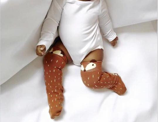 Newborn Arrival™ Baby Cotton Knee High Long Socks- FREE USA SHIPPING