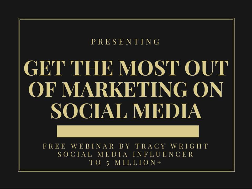 Get The Most Out Of Marketing on Social Media - FREE EBOOK - INSTANT DOWNLOAD