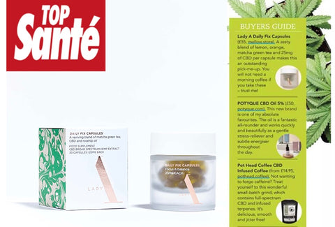 Lady A feature in Top Sante