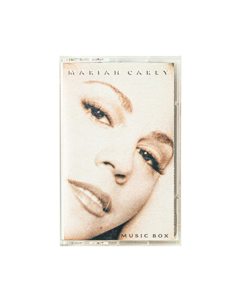 Mariah Carey - Music Box - Cassette Tape