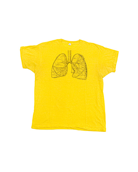 1980s Human Anatomy Lungs Vintage T-Shirt