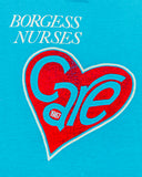 1987 Borgess Nurses Care Vintage T-Shirt