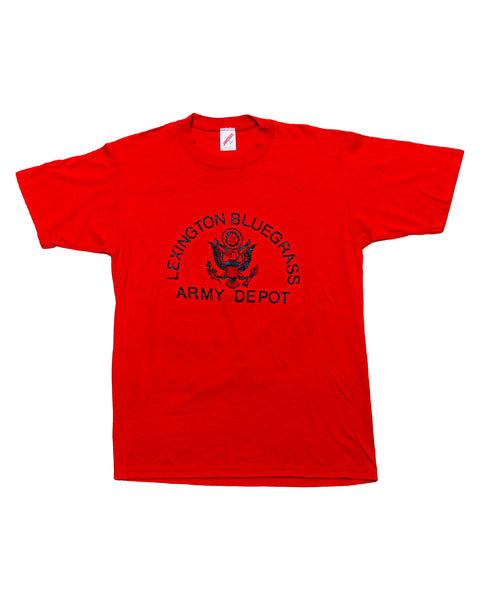 1980s Lexington Blue Grass Army Depot (BGAD) T-Shirt