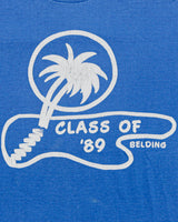 1989 Belding Class of 1989 Palm Tree Vintage T-Shirt