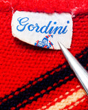 1960s Vintage Gordini Wool Winter Ski Hat Beanie