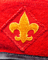 Vintage Boy Scouts Of America Eagle Scout Wool Beret Hat