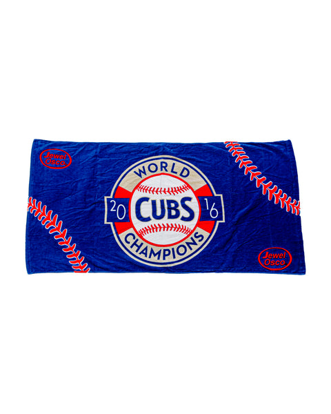 2016 Chicago Cubs World Series Champions 54 x 28 Beach Towel