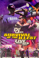 1998 Def Jam Survival of The Illest - Live From 125 NYC - VHS Tape
