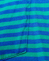 1990s Vintage Honors Striped Pocket T-Shirt